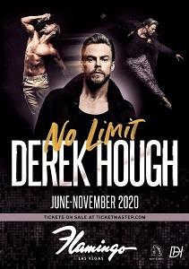 """""""Derek Hough: No Limit"""" To Take The Stage At Flamingo Las Vegas Beginning June 2"""