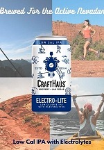 CraftHaus Brewery to Launch Electro-Lite IPA, a Low-Calorie IPA with Added Electrolytes