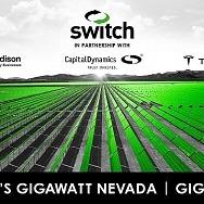 Switch and Capital Dynamics Break Ground on Massive Solar and Battery Storage Developments, Advancing Rob Roy's Gigawatt Nevada
