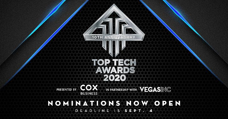 Vegas Inc. and Cox Business Seek Key Players in Las Vegas' Tech Industry for 10th Annual Top Tech Awards