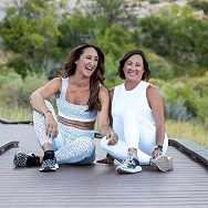Mother/Daughter Duo's Wellness Website, The Happy Destination, Pivots to Offer Virtual Retreats and Workouts
