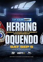 Jamel Herring to Defend Junior Lightweight World Title Against Jonathan Oquendo From MGM Grand In Las Vegas