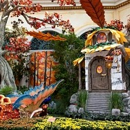 Bellagio's Conservatory & Botanical Gardens Creates Enchanted 'Into The Woods' Experience with New Autumn Display