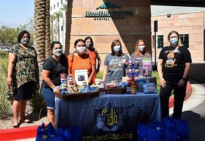 Tyler Robinson Foundation and Project 150 Open Summerlin Hospital Medical Center Pediatric Oncology Nourishment Room