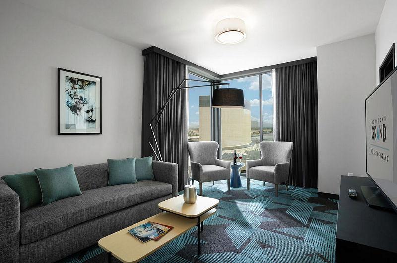 Gallery Tower - One Bedroom - Living Room