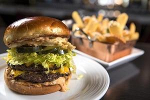 National Cheeseburger Day at Oscar's Steakhouse