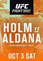 Former Women's Bantamweight Champion (#2) Holly Holm Faces Surging (#6) Irene Aldana on UFC/ESPN Oct. 3