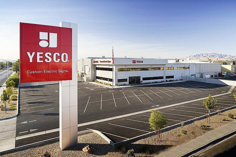 YESCO Custom Electric Signs