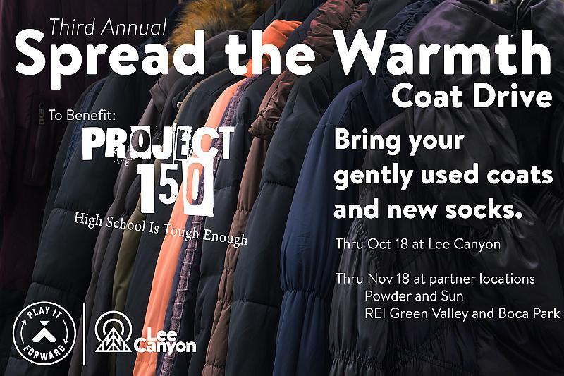 Spread the Warmth Coat Drive