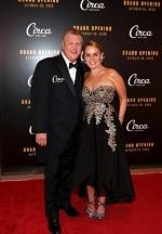 CEO-Derek-Stevens-and-wife-Nicole-Parthum-at-Circa-Resort-Casinos-grand-opening
