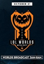 """Halloween at Hyperx Esports Arena; League of Legends Watch Party Followed by Costume Contest at Special Saturday """"Fright"""" Speedway"""