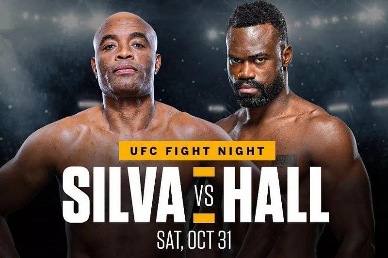 Elite Strikers (#10) Uriah Hall and Anderson Silva Headline UFC Return to Las Vegas October 31