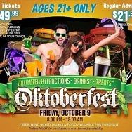 Oktoberfest Adult Night at Cowabunga Bay, October 9, 2020