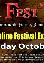 Pirate Fest Las Vegas Features Online Bazaar for All Mates to Enjoy, October 10