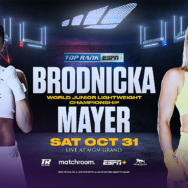 October 31: Mikaela Mayer to Challenge Junior Lightweight World Champion Ewa Brodnicka as the Inoue-Moloney Co-Feature LIVE and Exclusively on ESPN+