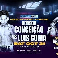 "October 31: Robson Conceição-Luis Coria, Jared Anderson and Jesse ""Bam"" Rodriguez Added to Inoue-Moloney/Brodnicka-Mayer Championship Doubleheader LIVE on ESPN+"