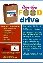 Serving our Kids Foundation Hosting Virtual and  Drive-Thru Food Drive Nov. 14