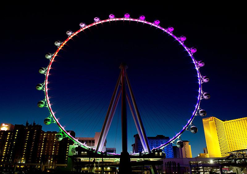 High Roller Observation Wheel Will Offer Buy-One, Get-One Tickets for Veterans Day, Nov. 11