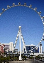 High Roller Observation Wheel, Eiffel Tower to Turn Red in Honor of World Aids Day, Dec. 1