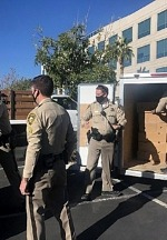 """3,000 Families in Need Received a """"Turkey Dinner Basket"""" to Kick Off the LVMPD Holiday Season 2020"""
