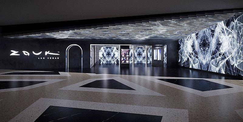 Resorts World Las Vegas - Zouk Nightclub Entrance Rendering