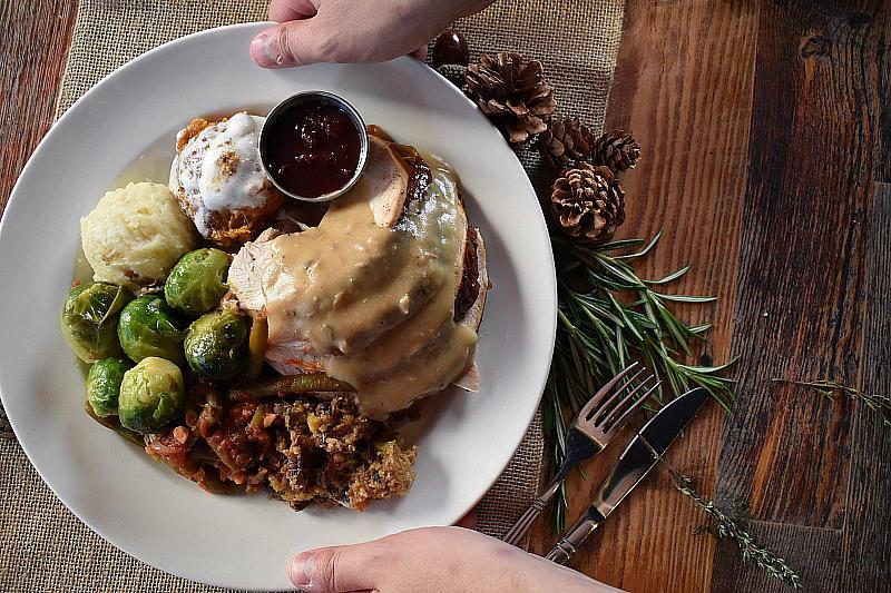 Virgil's Thanksgiving Plate
