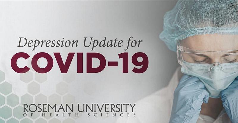 Covid & Depression Webinar, Nov. 17 by Roseman University Health Sciences