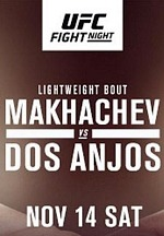 (#12) Islam Makhachev Welcomes Former Champion (#12 Ww) Rafael Dos Anjos Back to Lightweight at UFC Apex in Las Vegas Nov. 14