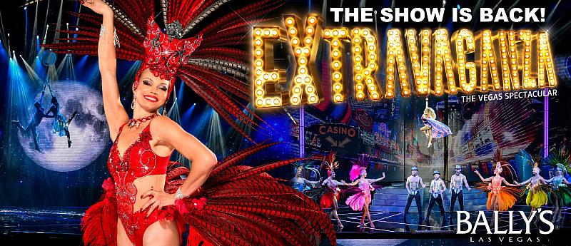 """""""Extravaganza – the Vegas Spectacular"""" to Return to the Jubilee Theatre Inside Bally's Las Vegas Nov. 23"""