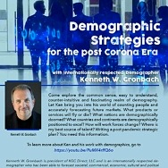 CCIM January 27, 2021 Virtual Luncheon - Demographic Strategies - Register Now!