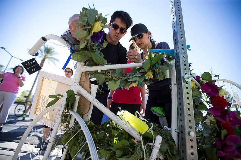 Las Vegas Cyclist Memorial Launches Design Contest to Remember LV5, Local Cyclists Lost