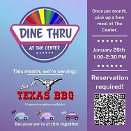 Dine Thru at The Center offers Monthly Free Meals