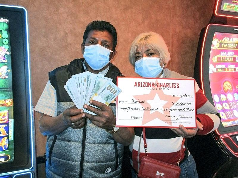 California Resident Wins More Than $20,500 at Arizona Charlie's Decatur
