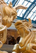 Bellagio's Conservatory & Botanical Gardens Welcomes Year of the Ox with Exquisite Lunar New Year Display