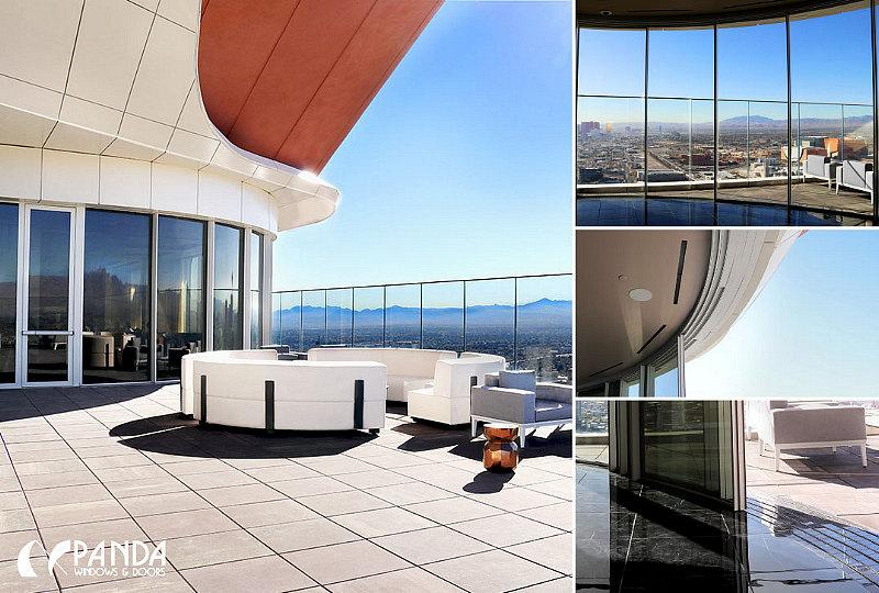 Billion-Dollar Circa Resort and Casino to Feature Panda Multi-Slide Glass Doors in Rooftop Bar Overlooking Downtown Las Vegas