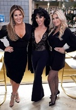 "Image5""Real Housewives of Orange County"" Star Emily Simpson Spotted at La Strega in Las Vegas"