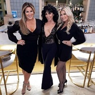 """Real Housewives of Orange County"" Star Emily Simpson Spotted at La Strega in Las Vegas"