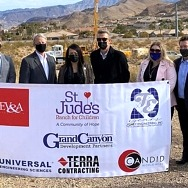 St. Jude's Ranch for Children Begins Healing Center Project for Child Victims of Sex Trafficking with Soil Survey Donated for $1