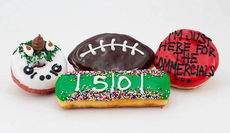 Big Game doughnuts
