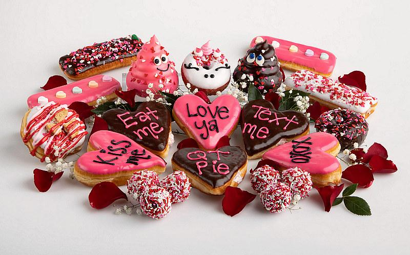 Tackle Love and Football at Pinkbox Doughnuts in February