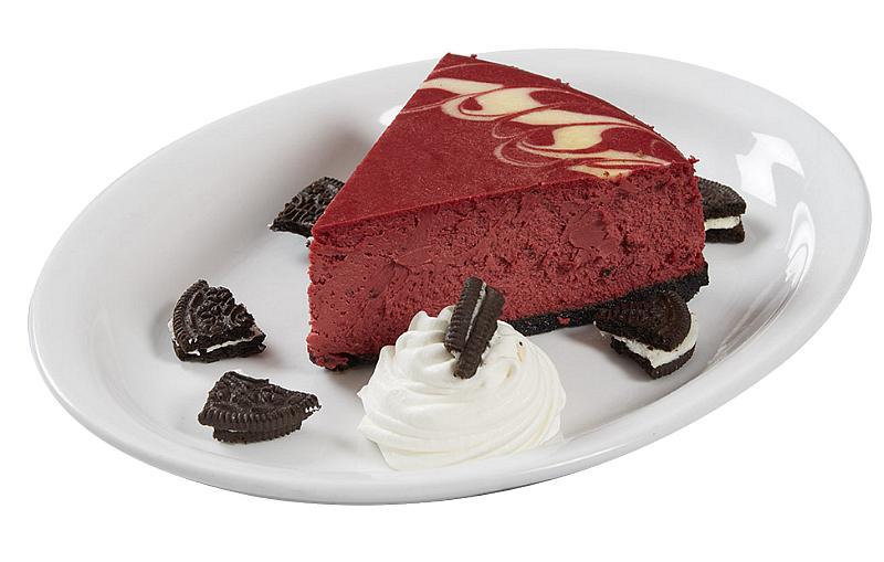 Red Velvet Cheesecake from Grimaldi's Pizzeria