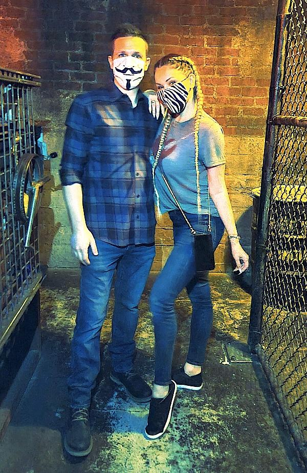 """Shanna Moakler """"Escapes"""" 2020 at Official SAW Escape Room in Las Vegas"""