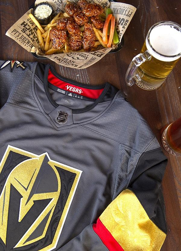 Skate Over to PT's Taverns for the Chance to Score a Vegas Golden Knights Jersey