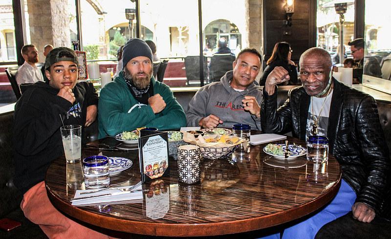 Floyd Mayweather Sr. and Rick Salomon Dine at El Dorado Cantina