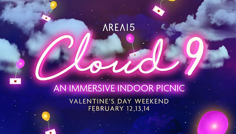 AREA15 Hosts Immersive Indoor Picnic Experience for Valentine's Day, Feb. 12, 13, 14
