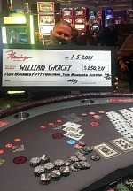 Florida Man Hits Mega Progressive Jackpot for $250,211 on Let it Ride at Flamingo Las Vegas