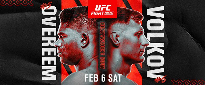 UFC Returns to Las Vegas With Thrilling Heavyweight Clash Feb. 6