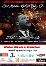 MGM Resorts International Sponsors the Las Vegas Dr. Martin Luther King, Jr. Annual Virtual Parade January 18
