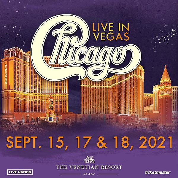 Legendary Band Chicago to Return to the Venetian Resort Las Vegas