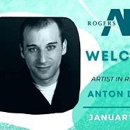 Rogers Art Loft in Las Vegas Welcomes Anton Dudley for First Virtual Artist-in-Residency of 2021